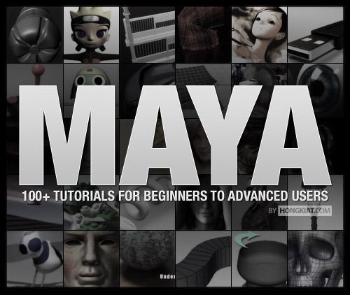 100+ Maya 3D Tutorials For Beginners, Intermediate And Advanced Users