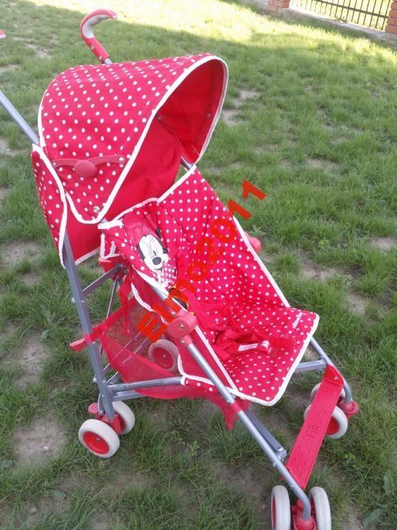 Wózek spacerowy Mothercare Disney Minnie w kropki
