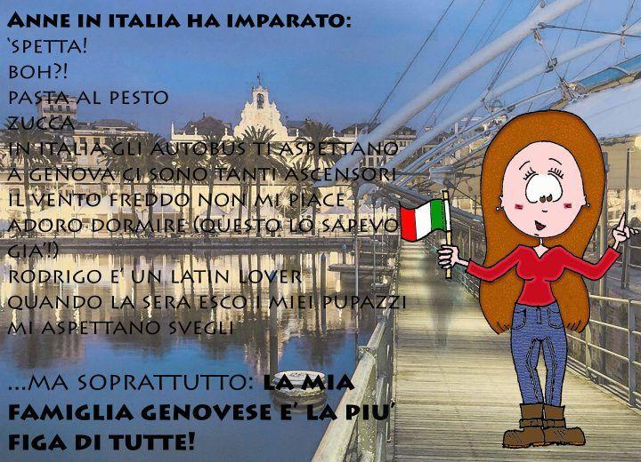 Anne au pair in Italia