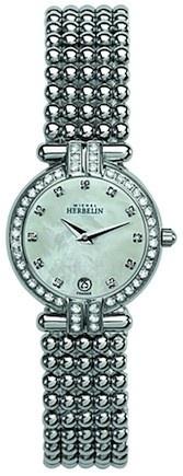 Michel Herbelin Ladies Mother Of Pearl Dial Perle Bracelet Watch 16873/44XB59
