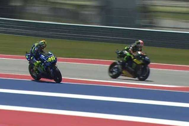 MotoGP, Valentino Rossi attacca Zarco attento, questa non è la Moto2