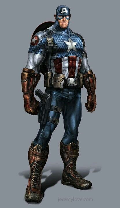 Captain America - Jeremy Love