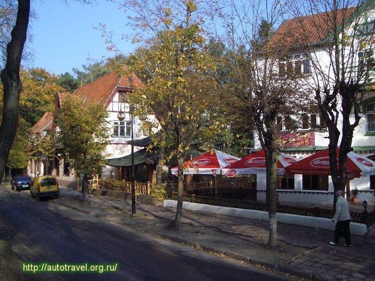 Svetlogorsk resort town in the Kaliningrad region