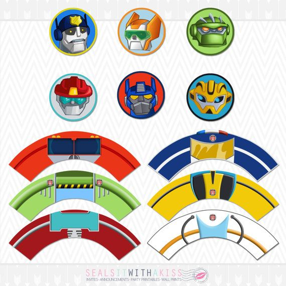 Descargar Instant Transformers Rescue Bots por SealsItWithAKiss