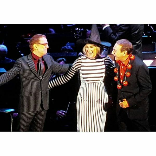 Danny Elfman & The Nightmare Before Christmas cast