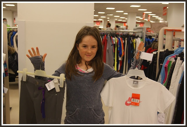 TK Maxx Mum/Dad V. Kids Style Challenge     ''I can't believe I got all this for under 30! Whoop-whoop!''