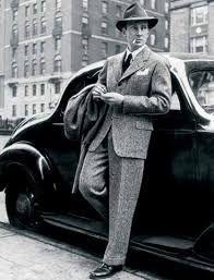 Znalezione obrazy dla zapytania moda lat 40