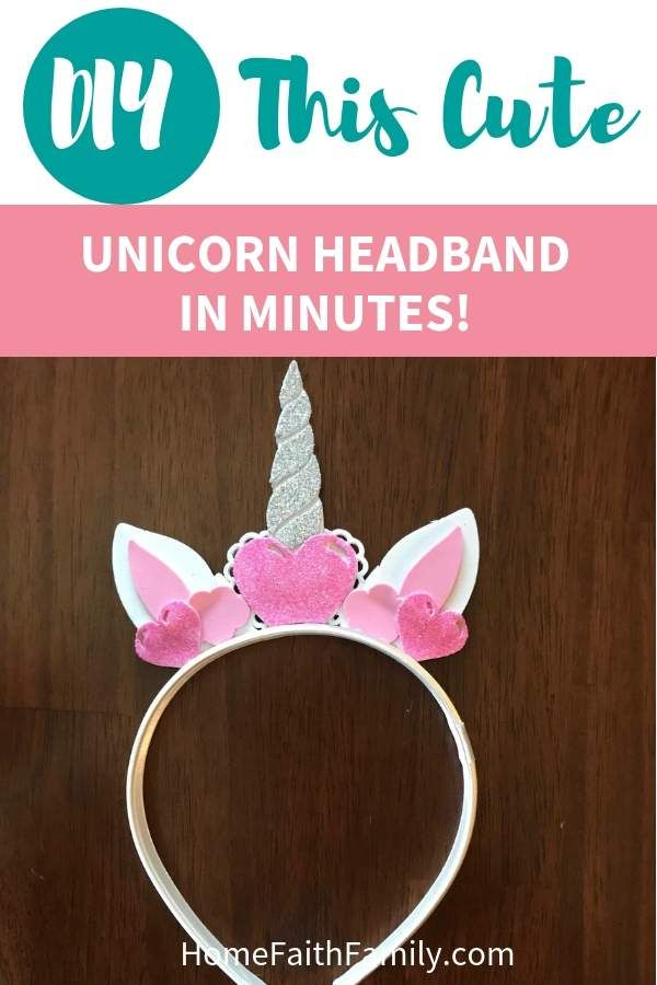 Grab Your Free Svg File To Diy This Cute Unicorn Headband For Your Next Costume Idea This Diy Unicorn Diy Unicorn Headband Diy Unicorn Horns Unicorn Headband