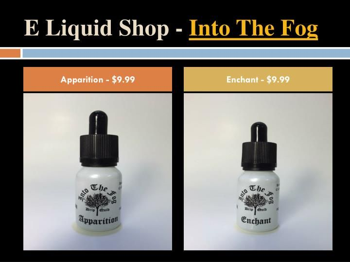 Not sure which flavor to choose? Want to try all six (6) Into The Fog Premium E-Liquid Flavors? Order your own Into The Fog Sample Pack today!\n\nIncludes all six (6) premium flavors in your preferred nicotine level. All kits come packaged in our custom sample kit box and as always, SHIPPING IS FREE!
