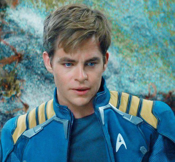 His eyes match the uniform