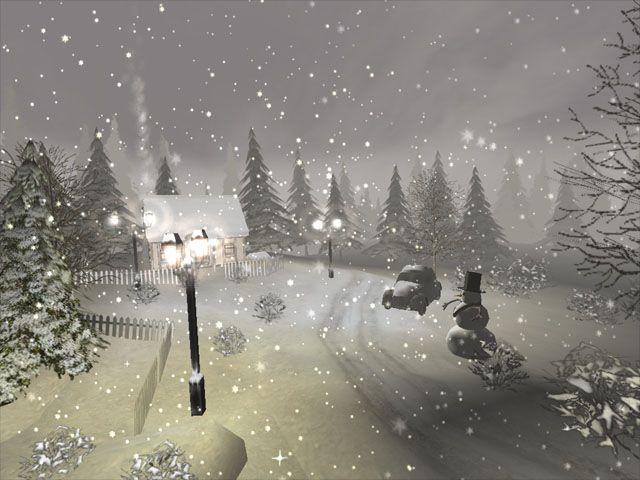 Free Winter Scene Screensaver | DESCRIPTION OF WINTER 3D SCREENSAVER