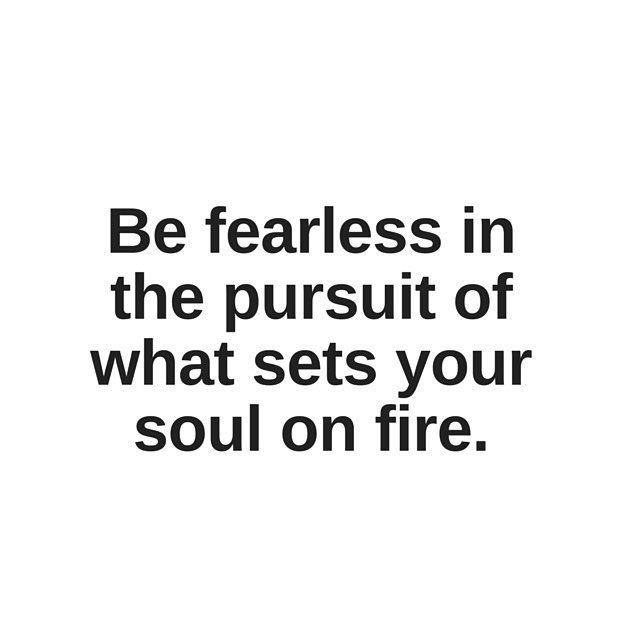 What fuels your fire? #mondaymantra