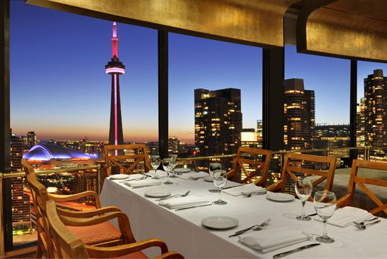 The Westin Harbour Castle Toronto Hotel Restaurant