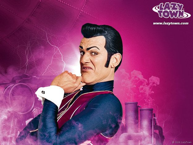Robbie Rotten from Lazy Town | The Definitive Ranking Of The Most Annoying Characters On Kids Shows
