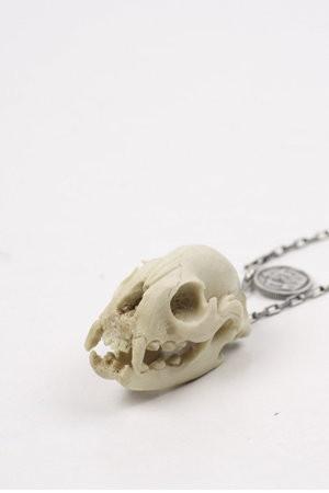 Tiger Skull Necklace by Nick Von K
