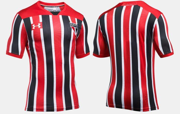 Camisas do São Paulo FC 2017-2018 Under Armour | Mantos do Futebol Camisas de Futebol