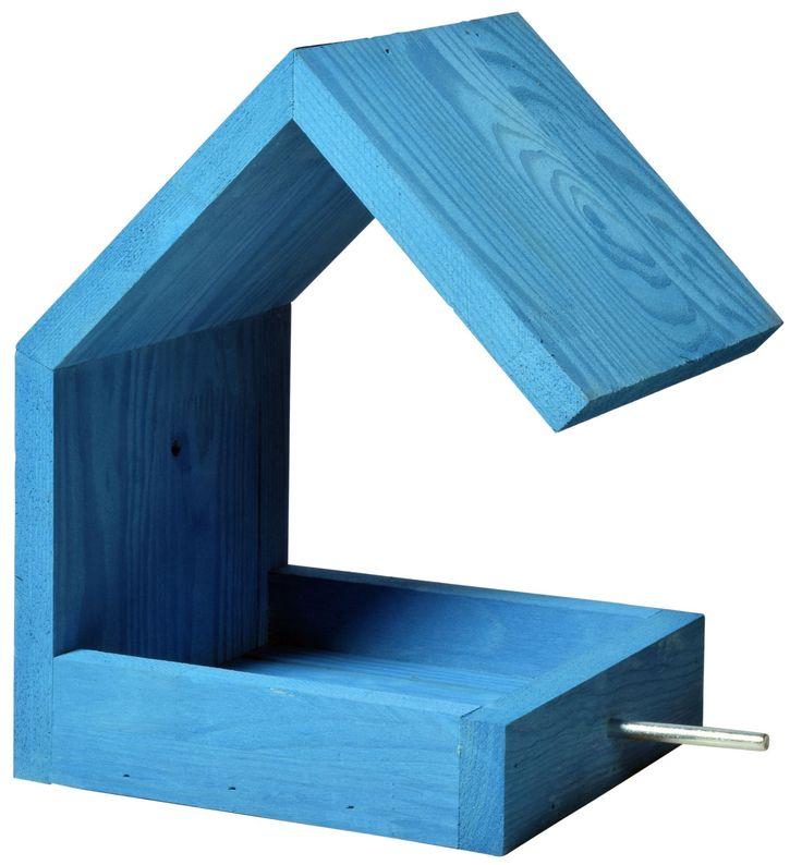 luxus vogelhaus bauhaus iii kiefer 38463e hochwertiges vogelfutterhaus mit satteldach und. Black Bedroom Furniture Sets. Home Design Ideas