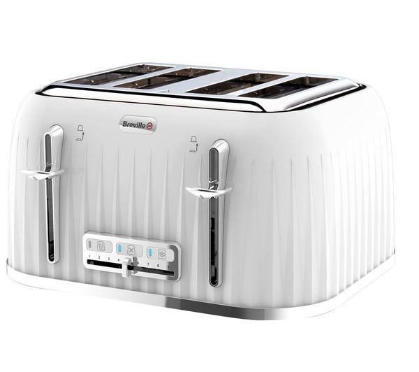 VTT470 4-Slice Toaster - White