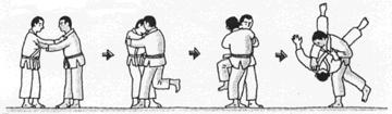 O-soto-gari - outer leg sweep