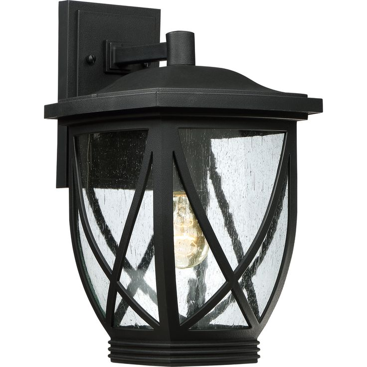 One Light Outdoor Lantern
