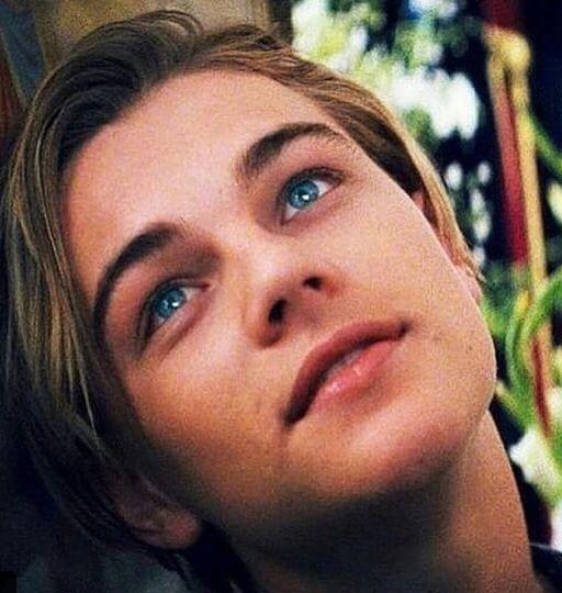 Leonardo DiCaprio -- Rj resembles him