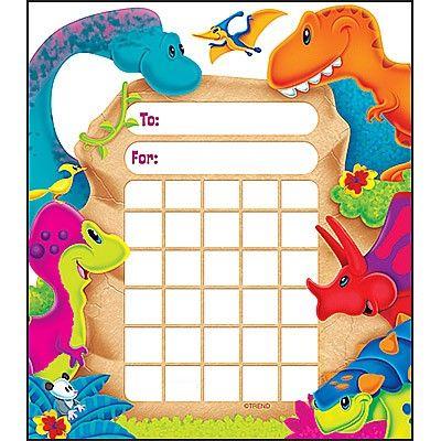 Dino-mite Pals Incentive Pad   Creative Classrooms
