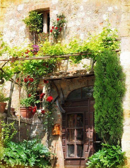 Tuscany italy via la toscana decoracion casas italia for La casa toscana tradizionale