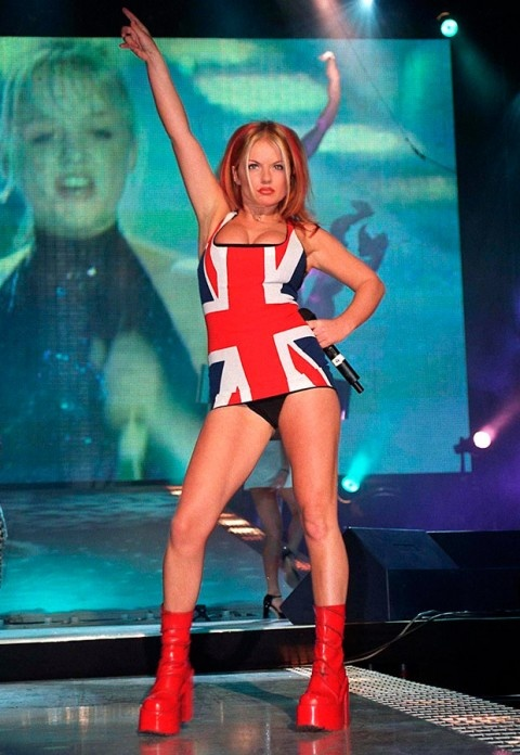 Spice Girls - The famous dress