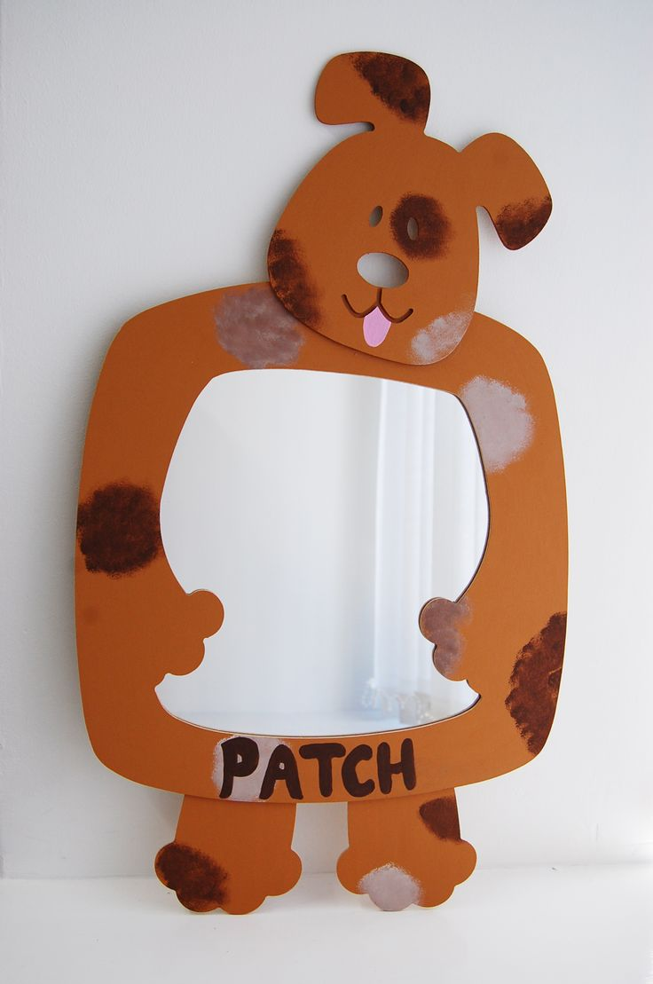 Painted wooden shapes for crafts - Wood Craft Blank Dog Mirror Shape Paint Your Own Wood Mdf Blanks Great Gift