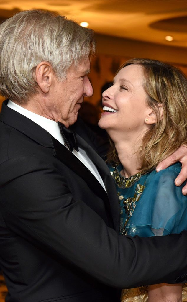Harrison Ford & Calista Flockhard from 2016 Golden Globes: Party Pics The longtime Hollywood husband and wife couldn't stop gushing over each other while celebrating their fellow actors' wins.