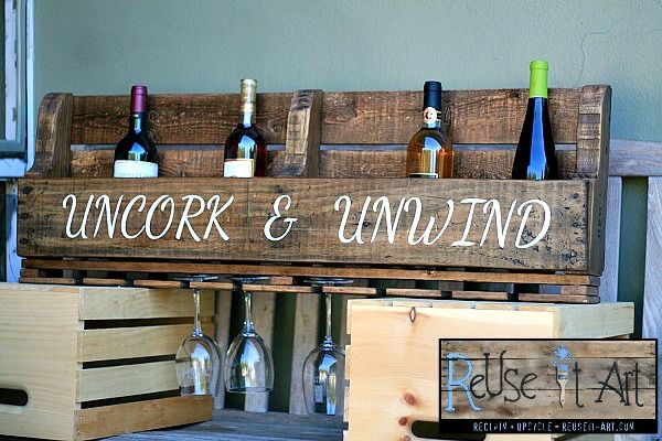 Wine Racks & Trays | ReUse It Art