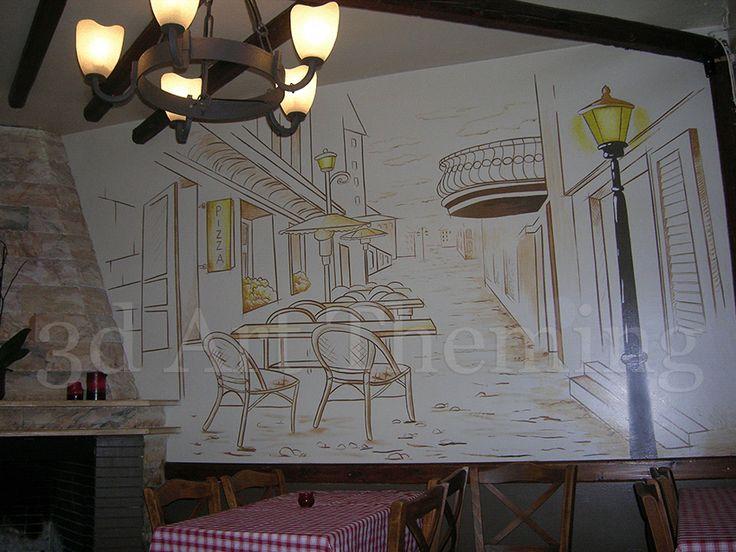 τοιχογραφίες σε τσιπουράδικα