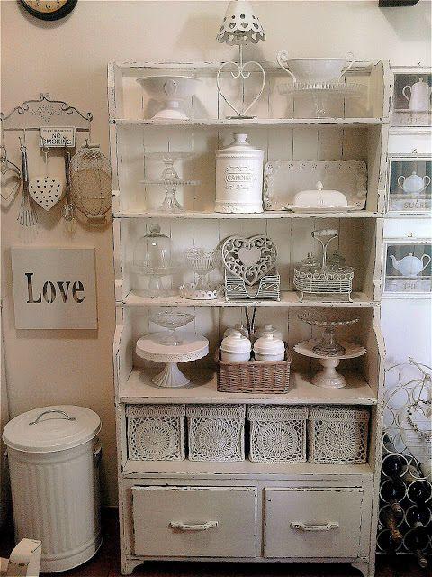 shabbykitchen, interior, kitchen, love et shabby