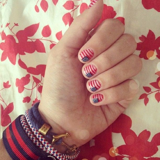 Late Night Nail Art Quick Easy Patriotic Mani: 114 Best Images About Hair, Make-up And Nails On Pinterest