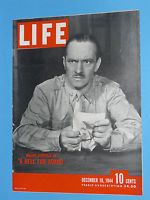 1944 December 18 LIFE -WWII GERMANY BRITAIN HOLLAND FRED ALLEN
