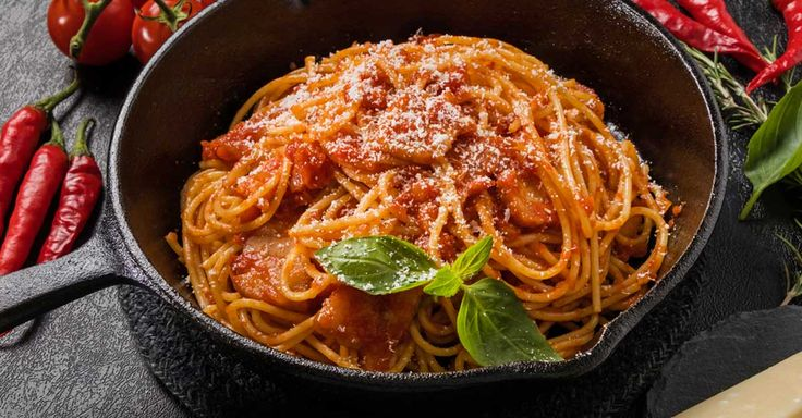 Sugo all'matriciana is a staple of Roman cooking that originated in a historic hilltop town called Amatrice. Learn to cook this delicious dish
