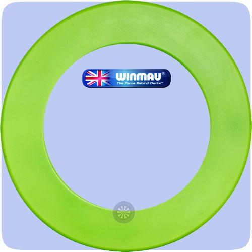 Winmau Heavy Duty Dartboard Surround - Professional - Plain - Green - http://www.dartscorner.co.uk/product_info.php?products_id=19496