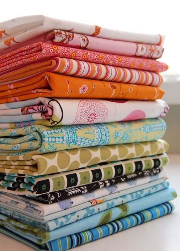30 great places to buy inexpensive fabric online. GREAT to know.