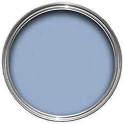 wall colour: dulux bathroom plus soft sheen paint blue