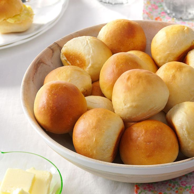 Overnight Yeast Rolls Recipe -It's easy to make light and flavorful rolls with this no-fuss recipe. The dough can also be used for cinnamon rolls, herb bread or coffee cake.