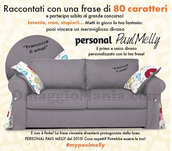80 voglia di dirtelo: vinci divano Paul Melly - http://www.omaggiomania.com/concorsi-a-premi/80-voglia-dirtelo-vinci-divano-paul-melly/
