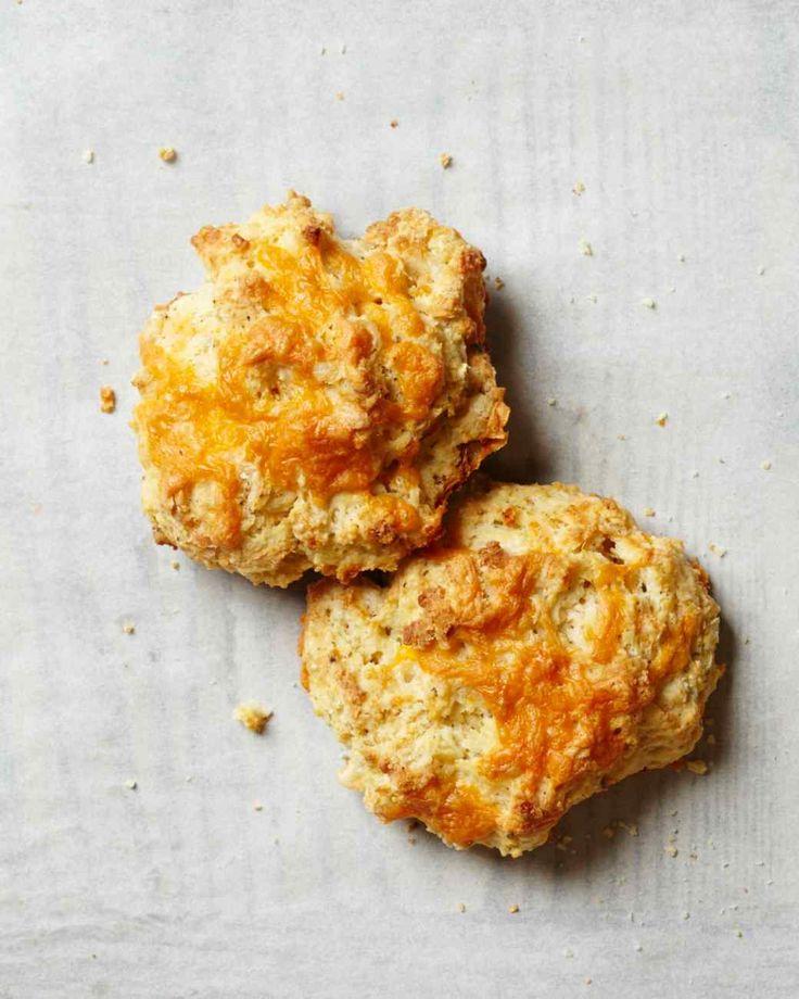 Cheddar-Pepper Drop Biscuits