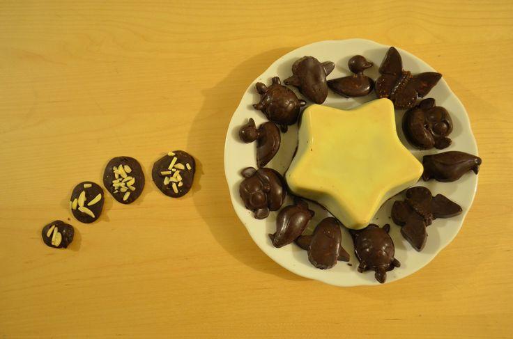 stella yogurt e cioccolato bianco + cioccolatini hand made