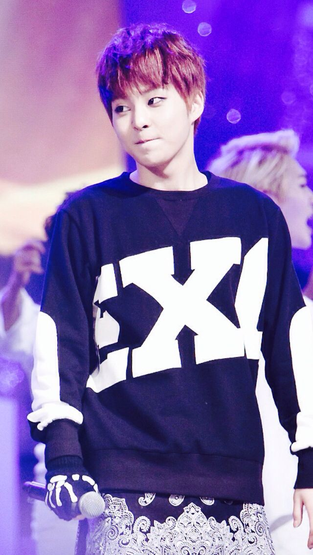 Exo xiumin <3 I just saw him acting in Gone, and I cried my eyes out #xiumingone