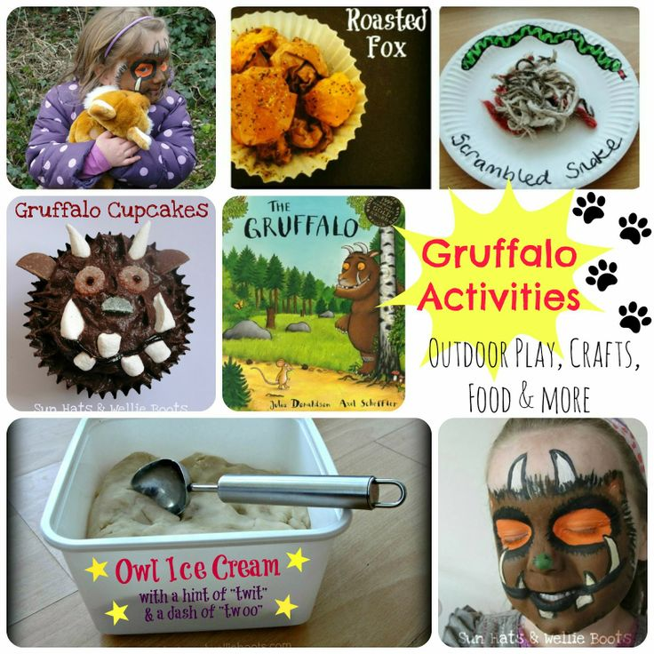 4 Gruffalo Activities for World Book Day