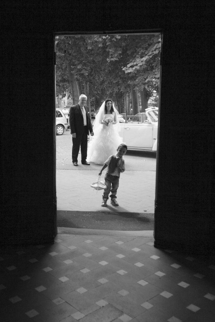 Wedding tuscany ceremony with bride