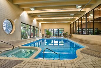 Relax in the sauna, whirlpool, or indoor swimming pool.