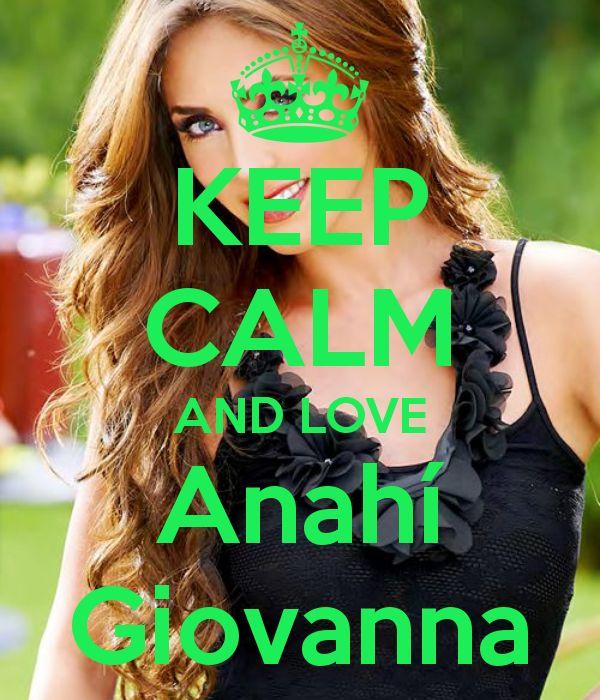 Keep calm: Anahí Giovanna (01)