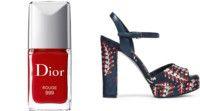 dior, лак для ногтей rouge