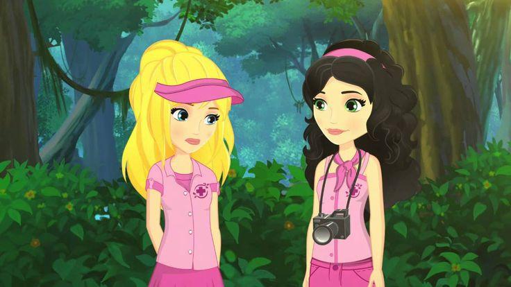 LEGO®  Friends Dzsungel - Elég a majomkodásból! 6.rész